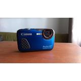 Canon Powershot D30 12 Mp Fhd Res.agua 25m Caídas 2m Sd 32gb