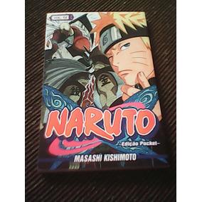Mangá Naruto Pocket Vol 56 E Vol 06 + 4 Cartas De Yugioh