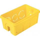 Caixa De Luz Tramontina, 4x2, Amarelo - 57500/041