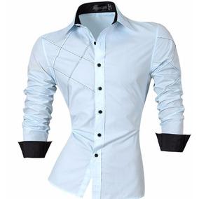 Camisa Social Slim Fit Estilo Boutique Ocidental.