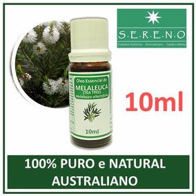 Óleo Essencial Melaleuca/tea Tree (10ml) 100% Puro