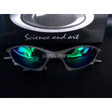 a13f10f23bc34 Oculos Juliet Penny X Metal Lente Verde G26 + Lente Extra