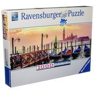 Puzzle 1000 Gondolas En Venecia  Ravensburger 150823