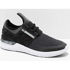 Zapatillas Supra Mod Flow Run Evo Black / White