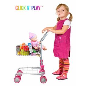 Carrito Infantil De Compras Para Niñas Click N Play