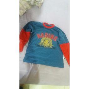 2 Camisetas Infantil Manga Longa Com Pequenos Defeitos