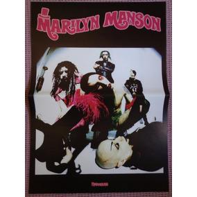 Marilyn Manson Poster Láminas Recortes