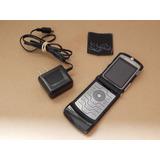 Motorola V3i Preto Slot Microsd Sem Acessorios - Com Defeito