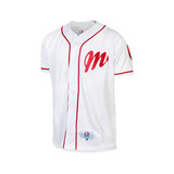 Jersey Beisport-béisbol Diablos Rojos Del México - Blanco