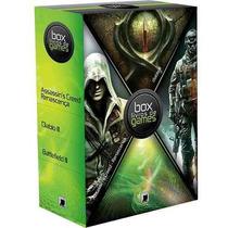 Box Livros De Games - Galera Record - Lacrado