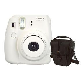 Câmera Instantânea Fujifilm Instax Mini 8 Branca + Estojo