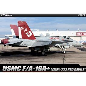 Avião F-18 Hornet Red Devils Kit Academy 1/72 Para Montar