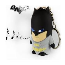 Chaveiro Temático Batman Com Led E Som