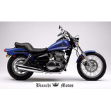 Silenciador Kawa Vulcan 500 Ltd Tipo Original Bianchi Motos
