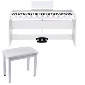 Piano Digital Korg B1s 88 Con 3tableros Pedal Banco 88tecla