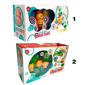 Movil Cunero Abeja Proyector Musical Mariposa Bed Bell