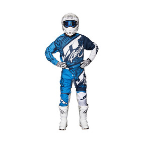 Kit Jt Racing Flex Victory Azul B Motocross No Fox