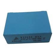 Capacitor Filme Epcos B32656 Mkp 0.22 Uf K 1600 Vdc 700 Vac
