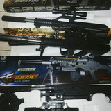 Airsoft Gun Model Bbs 6mm Utileria Disfraz Cosplay Arm Laser