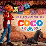 Kit Imprimible Coco Disney Pixar Cotillón Cumpleaños