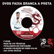 7 Dvds Schubert - Faixa Branca A Preta Gracie System