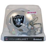 Nfl Oakland Raiders Mini Casco Modelo Speed By Riddell