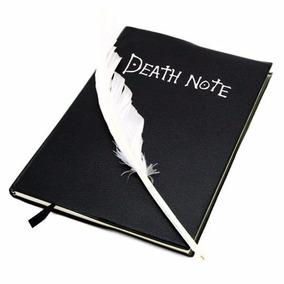 Caderno Anime Death Note Oficial + Pena - Frete Grátis
