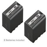 Kastar Battery Pack 2 Para Panasonic Ag Vbr89g Ag Vbr59...