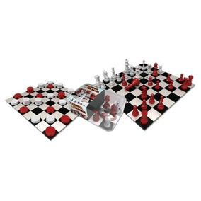 Jogo De Xadrez E Damas - Gulliver