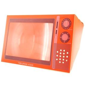 Lupa Micro Forma Plegable Tele Vision Imagen Amplificador