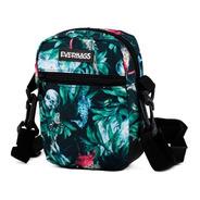 Shoulder Bag Bolsa Necessaire Pochete Everbags Floral Verde