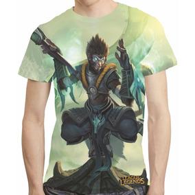 Camisa League Of Legends Jade Dragon Wukong - Estampa Total