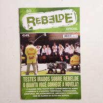 Revista Rebelde Oficial Teste Sobre Rebelde Mía Dulce Nº04