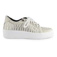 Zapatillas Sneakers De Mujer De Cuero Natrix - Ferraro