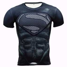 Camisa De Compressão Superman Pronta Entrega