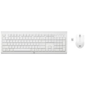 Combo Kit Mouse Y Teclado Hp C2710 Wireless Blanco M7p30aa