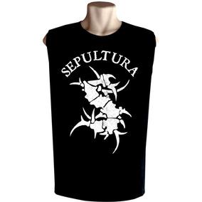 99df992ffd212 Evoke Sepultura - Camisetas Regatas para Masculino no Mercado Livre ...
