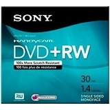 5 Discos Mini Dvd +rw Sony Handycam 30 Minutos 1.4 Gb 89-318