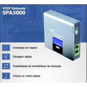 Spa3000 Linksys Cisco Fxo Fxs Envio Imediato