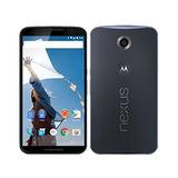 Motorola Nexus 6 Unlocked Cellphone, 32 Gb, Midnight Blue (c