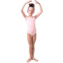 Leotardo Payasito Ballet. Color Rosa Y Negro. Marca Sansha