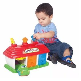 Brinquedo Menino Infant Carrinho Educativo 2anos Baby Garage