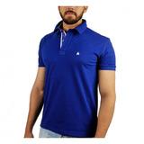 Camisa Polo Bf///ms Azul Bic