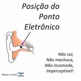 Esculta Micro Ponto Eletrônico Auricular Ouvido