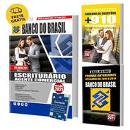 Kit Apostila Banco Do Brasil Escriturário + Testes + Provas
