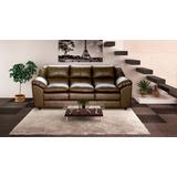 Sofa De Couro 3 Lugares | Dallas