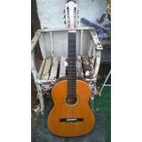 Guitarra Acustica Tizona Medio Concierto Con Funda 2