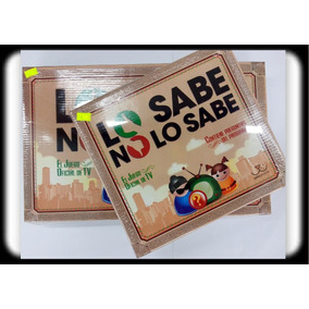 Juego Lo Sabe No Lo Sabe Oficial Tv Version Fichas Oferta !