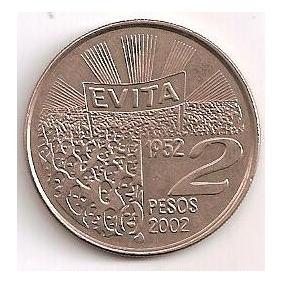 Argentina 2 Pesos 2002, Evita, Sc