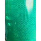 Vinilo Reflectivo Prismatico 3m - Egp Panal De Abeja Verde